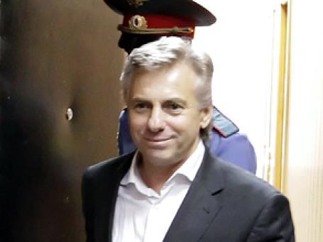 Бизнесмен Юрий Финк перед началом судебного заседания. Фото: РИА Новости