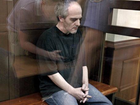 Бизнесмен Юрий Меркинд во время оглашения приговора в Московском городском суде. Фото: РИА Новости