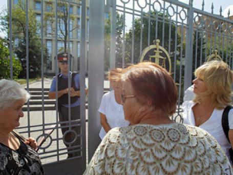Сотрудники и посетители Мосгорсуда на несколько часов были эвакуированы из-за угрозы взрыва. Фото: РИА Новости