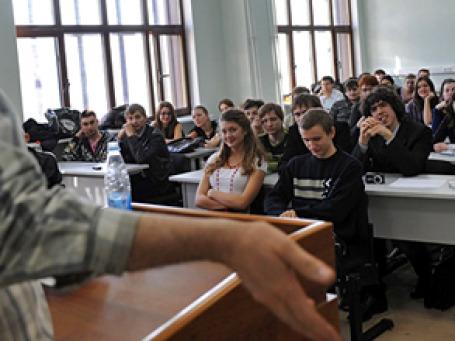 У 70% выпускников московских вузов 2010 года уже есть опыт работы. Фото: РИА Новости