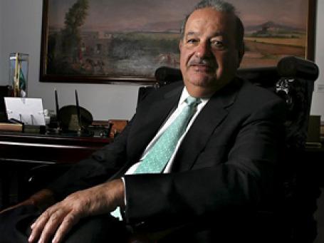 Знаменитый мексиканский магнат Карлос Слим Элу, чье состояние достигает 60 млрд долларов, считается самым богатым человеком в мире. Фото: AP