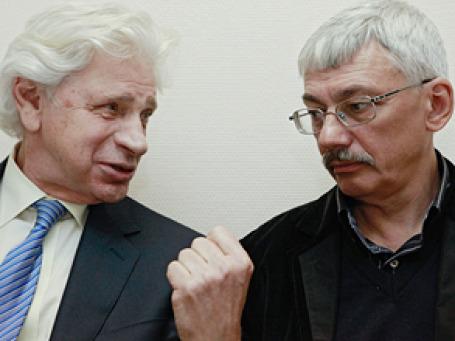 Адвокат Генри Резник и председатель Совета правозащитного центра