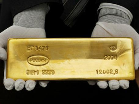 Цена золота поставила новый исторический рекорд — 1285,2 доллара за унцию. Фото: РИА Новости