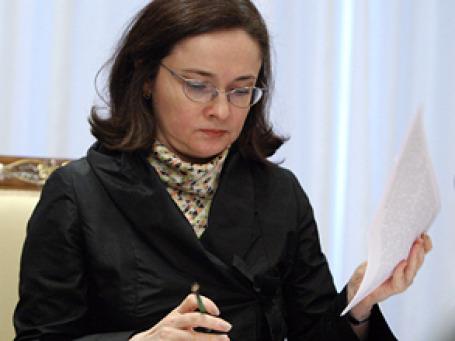 Министр экономического развития Эльвира Набиуллина рассказала сенаторам о малом и среднем бизнесе. Фото: РИА Новости