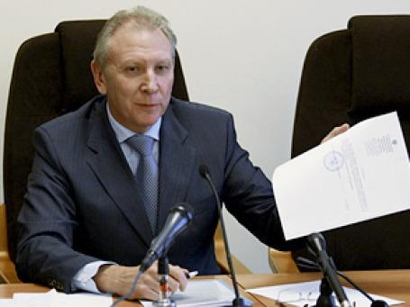 Первая отставка в окружении Лужкова — уволен заместитель мэра Александр Рябинин. Фото: РИА Новости