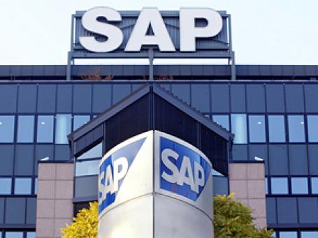 Германская компания SAP подготовила специальное предложение для российского сегмента СМБ, рассчитывая потеснить здесь популярные программные системы «1С». Фото: AP