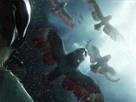 Кадр из мультфильма «Легенды ночных стражей».