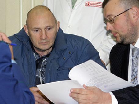 Михаил Бекетов на заседании в мировом судебном участке. Фото: РИА Новости