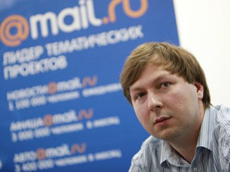 Генеральный директор интернет-компании Mail.Ru Дмитрий Гришин. Фото: РИА Новости