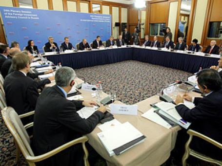 Российский премьер Владимир Путин сегодня проведет 24-е заседание Консультативного совета по иностранным инвестициям. Фото: РИА Новости