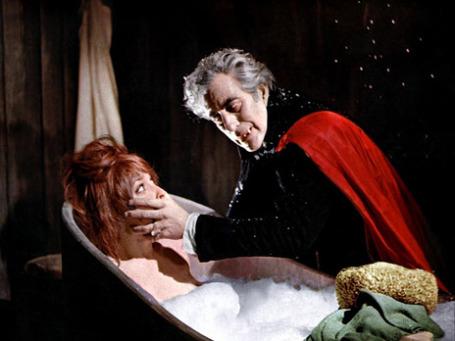 Кадр из фильма «Бал вампиров». 1967 год
