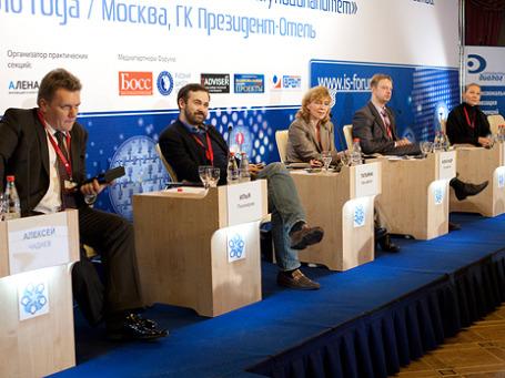 Участники форума «Развитие информационного общества» пришли к выводу, что муниципальным образованиям не поможет даже «Ростелеком». Фото: is-forum.ru