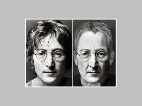 Так выглядел бы Джон Леннон, доживи он до 70-летнего юбилея. Коллаж: dailymail.co.uk