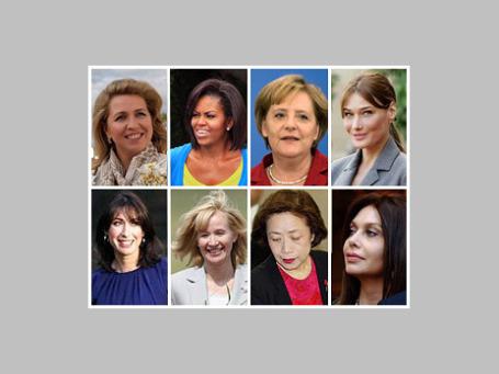 Тенденции в мире моды зачастую определяют первые леди — жены президентов всегда в центре внимания прессы и особенно модных обозревателей. Фото: AP, РИА Новости