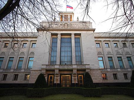 Здание российского посольства в Берлине. Фото: tehf0x/flickr.com
