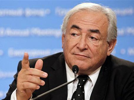 Глава МВФ Доминик Стросс-Канн поделился голосами. Фото: AP