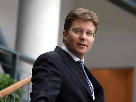 Член правления ЮниКредит Банка Эдуард Иссопов. Фото: Григорий Собченко/BFM.ru