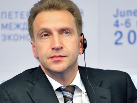 Игорь Шувалов проконтролирует реализацию программы по переводу России на