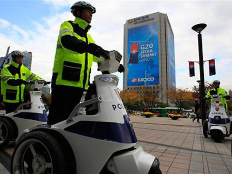На саммите G20 в Сеуле обсудят ужесточение требований к банкам. Фото: AP
