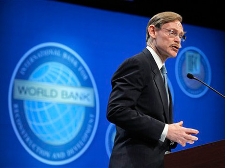 Президент Всемирного банка Роберт Зеллик. Фото: AP