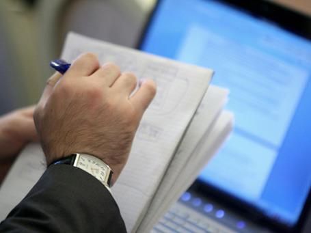 В следующем году федеральные министерства и ведомства задумали потратить на свою информатизацию 80 млрд бюджетных рублей. Фото: Григорий Собченко/BFM.ru