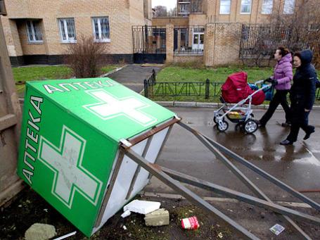 Московские чиновники со сносом палаток перестарались. Фото: РИА Новости