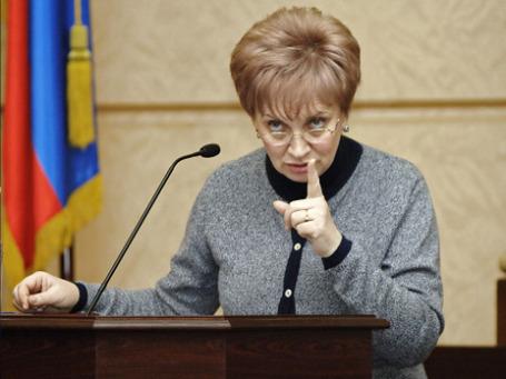 Председатель Мосгорсуда Ольга Егорова угрожает нарушителям публичными разбирательствами. Фото: ИТАР-ТАСС