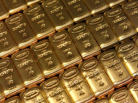 !8 ноября цены на золото на Comex в Нью-Йорке достигли отметки в 1336,8 доллара за тройскую унцию. Фото: РИА Новости
