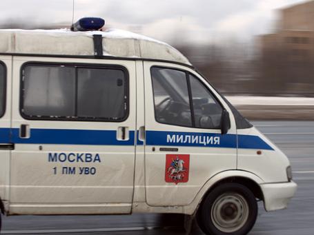 Подполковник милиции, управлявший «Газелью», не смог защититься от побоев, нанесенных водителем Land Rover. Фото: Митя Алешковский/BFM.ru