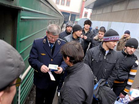 Россия нуждается в трудовых мигрантах разной квалификации. Фото: РИА Новости