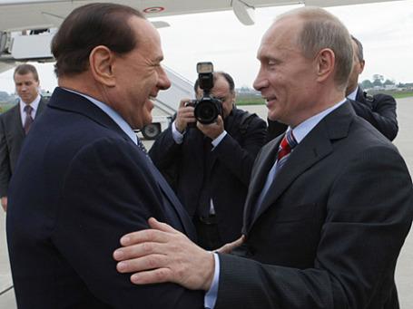 Помимо официальных отношений премьеров России и Италии связывает тесная личная дружба. Фото: РИА Новости