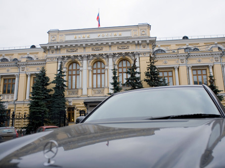 Банк России показал пример коллегам: в 2011 году сотрудники банка получат больше бонусов. Фото: Митя Алешковский/BFM.ru