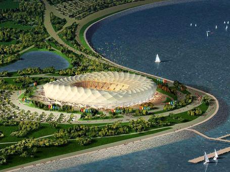 Проект стадиона в Краснодаре для ЧМ-2018. Фото: radioheads.net