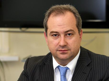 Генеральный директор и один из акционеров холдинга «РБК Информационные системы» Герман Каплун. Фото предоставлено пресс-службой РБК