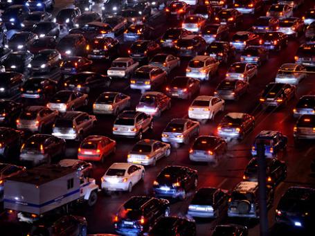 Выбить пробки сможет искусственный интеллект. Фото: РИА Новости