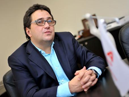 Член правления, руководитель блока «Информационные технологии» Альфа-банка Сергей Меднов. Фото предоставлено пресс-службой Альфа-банка