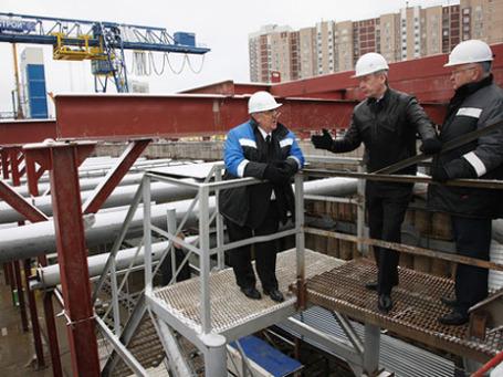Мэр Москвы Сергей Собянин считает приоритетным развитие метро. Фото: РИА Новости