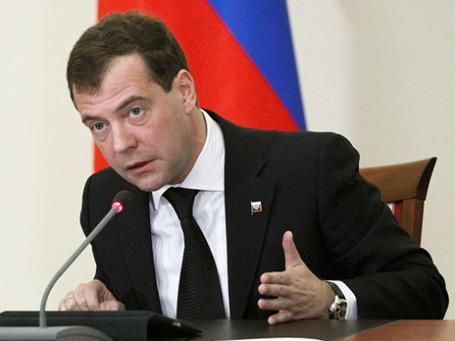 Президент РФ Дмитрий Медведев. Фото: РИА Новости