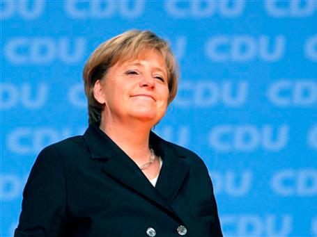 Ангела Меркель рада экономическим итогам года. Фото: АР