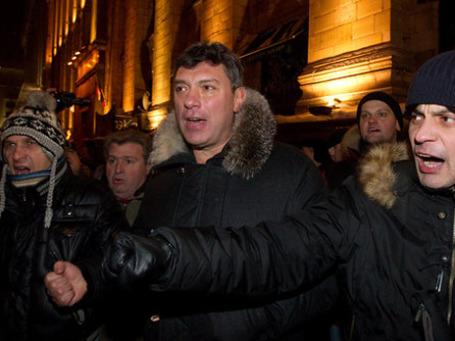 Борис Немцов считает дело о своем аресте «абсолютно заказным». Фото: РИА Новости