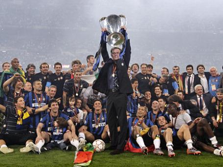 Жозе Моуриньо признан лучшим футбольным наставником 2010 года. Фото: РИА Новости
