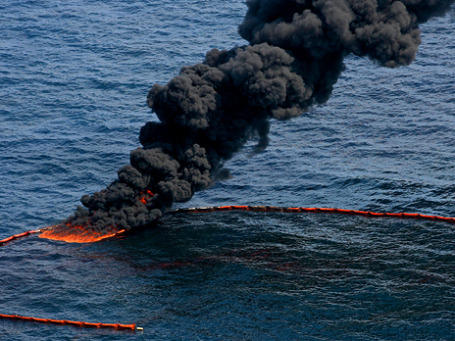 Массовый разлив нефти в Мексиканском заливе стал экологическим бедствием для всего региона. Фото: ИТАР-ТАСС