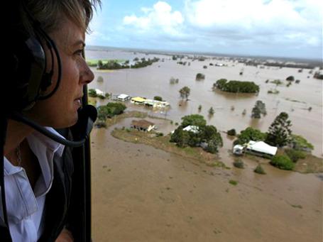 Одним из эпицентров наводнения оказался штат Квинсленд, являющийся крупнейшим центром добычи угля в Австралии. Фото: АР