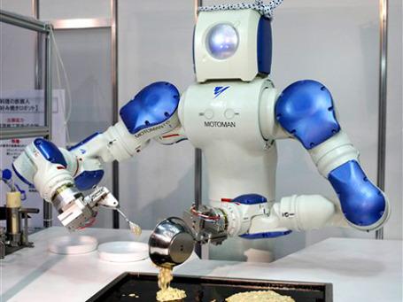 В ближайшие 10 лет возрастет популярность домашних роботов, особенно в странах со стремительно стареющим населением. Фото: AP