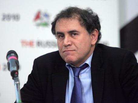 Нуриэль Рубини советует инвесторам диверсифицировать портфель. Фото: Григорий Собченко/BFM.ru