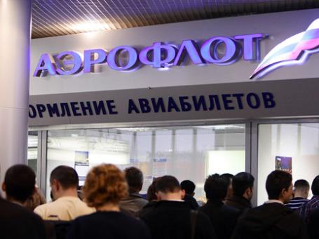Чтобы получить репутационный ваучер «Аэрофлота» необходимо предоставить оригинал посадочного талона, копию паспорта пассажира и подписанное соглашение установленного образца. Фото: РИА Новости