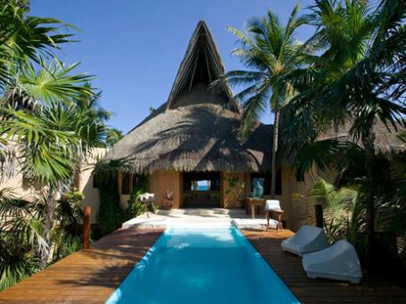 Вилла Casa Nalum в Мексике. Фото: luxuryretreats.com