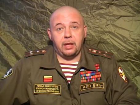 Стоп-кадр видеобращения Александра Глущенко к Дмитрию Медведеву.