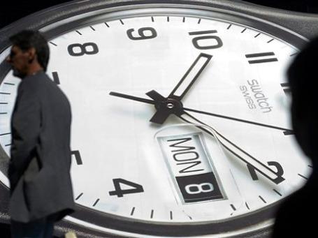 Спрос на швейцарские часы высок как никогда. Основные покупатели — азиаты, арабы и жители Восточной Европы. Фото: AP
