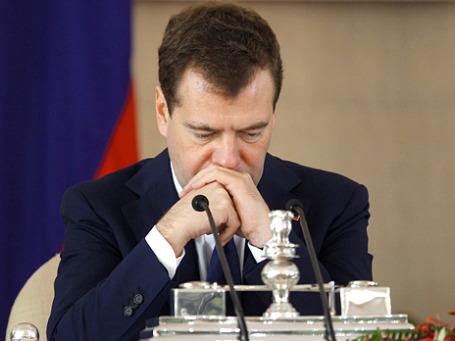 Президент РФ Дмитрий Медведев потребовал наказать чиновников за «Домодедово». Фото: РИА Новости